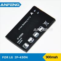 Free shipping RetailT LGIP-430N battery for LG Cookie Fresh, GS290, GW300, LX290, LX370, LX370 MT375, GB220, GM360