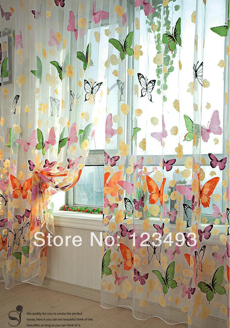 Gordijnen kinderkamer vlinder: kinderkamer gordijnen vlinders.