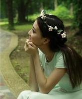 Freeshipping !! Handmade Fresh Flower Girls Hair bands HAir Garishness ,Bride and Bridesmaids Hair Accessory
