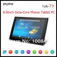 PiPO TALK T9 OCTA CORE 8 Core Phone Tablet PC MTK6592 8.9Inch FHD Screen 1920x1200 GPS Dual cameras built-in 3G 2GB RAM 32GB