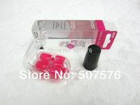 New  Arrival !!  Best  Quality 24pcs/set  Nail  Short Full Cover Plastic Acrylic  full covered nail art tip