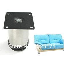 Новое простой практическая 4 шт./лот мебель регулируемая кабинет стола 304 из нержавеющей стали бесплатная доставка