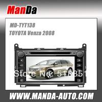 TOYOTA Venza 2008 Car Dvd Player 2 Din Touch Screen Head Unit Car Radio AM FM CD USB SD Ipod Bluetooth Multi languages