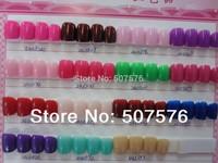 2014 fashion   Best  Quality 24pcs/set  Nail  Short Full Cover Plastic Acrylic  fashion nail art tips