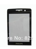 Free shipping, Original black glass Lens for Philips X623 Cellphone, Screen for CTX623 xenium mobile phone