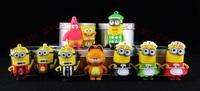100pcs/lot  Minions usb flash drive 2gb 4gb 8gb 16gb Thumb Pen Drive usb flash disk memory Stick free shipping