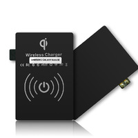 2014 new hot sale Free Shipping ! Qi Wireless Charger Receiver Qi Wireless Charging Receiver for  NOTE3 N9000!
