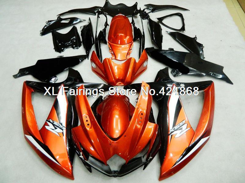 for Suzuki GSXR600 09 10 Fairing GSXR 600 09 10 Fairing Kits GSXR 600 2010 08 09 10 K8 XL Fairings(China (Mainland))