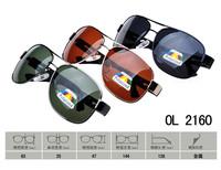 2014 Men Polarizer sun Glasses Fashion UV400 Black Metal Frame Goggles Reduce Glare Men Sun coating sunglasses OL2160
