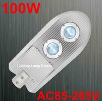 free shipping sale 100W led street light AC85-265V IP65 2year warranty LED led street light 100W parking light lamp