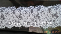 Embroidery Corded French Lace Trim for Bridal Wedding Veils 3 meters per pc