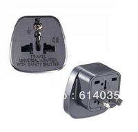 SS-17  Travel Adaptor/Plug Converter in Black *CE Marked    China, Australia, New Zealeand.