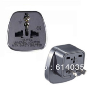 SS-17  Travel Adaptor/Plug Converter in Black *CE Marked    China, Australia, New Zealeand.
