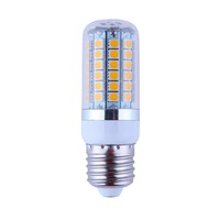 2 pieces/ lot 2014 New 8W AC85-265V E27 Corn LED Light  69 Lamp Beads 5050SMD 1100 Lumen Warm White / Cool White Energy-saving