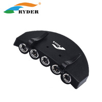 Ryder outdoor cap lamp camping headlamp button cell battery clip cap lamp 5 led lighting