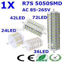 Free Shipping R7S LED 118mm|15W 10W|78mm 12W  25W|189mm J118 J78 J189 LED R7S dimmable 5050 corn bulb Halogen Flood