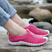 Lover's Summer Breathable Sunning Shoes For Men & Women Network Barefoot Jogging Shoes Outdoor Slip-Resistant Sport Shoes SH-053