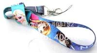 Wholesale Cartoon Frozen Phone Strap NECK Hook Lanyard Charm