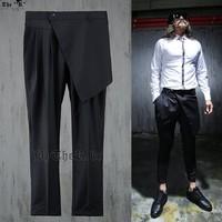 Free shipping! Men's fashion personality harem pants hanging crotch pants low pants