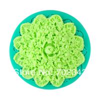 Silicone Fondant cake decoration Flower mould Soap mold