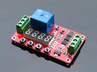 FRM01 Multi-function Relay Module Circulation Timing Self Locking  Power Meter 5 v / 12 v / 24 v  optional
