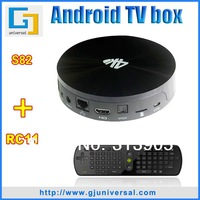 {Free RC11 air mouse} S82 Smart TV Box Android Quad-core Amlogic S802 2.0Ghz 2G/8G TV Box WIFI HDMI 4K Android 4.4 XBMC