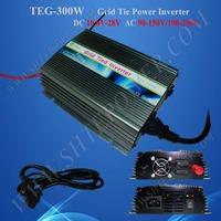 China Solar Grid Tie Inverter DC 10.8V-28V to AC 100V 110V 200V 220V 230V 300W