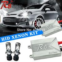 Chinese Factory R8 H4 Bi-xenon HID Xenon Conversion Kit AC 12V 35W H4 Hi Lo Xenon Lamps Bulbs R8 Ballast