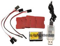 Tarot ZYX-S2 ZYX V2 3 Axis Flybarless MEMS Gyro USB Programmer Link For 200-800