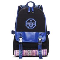 [You Mian]Cotton 2014 national trend 25L canvas backpack,school bag,travel rucksack, man&female bagpack(30*12*14cm)