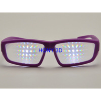 HONY plastic promotional diffraction glasses cheap price but good quality
