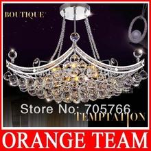 fábrica lámpara araña de cristal de lujo accesorio de cristal colgante de cristal lustres arañas arañas e pendentes(China (Mainland))