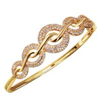 2014 bangles 18k bracelet for female Cubic Zircon Vintage design women bangle accessories Love
