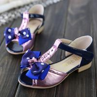 2014 child sandals child shoes female child open toe open toe shoe princess shoes