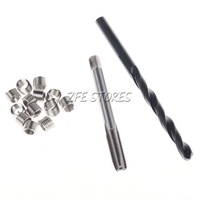 Helicoil Thread Repair M6 x 1 Drill and Tap 12 Inserts
