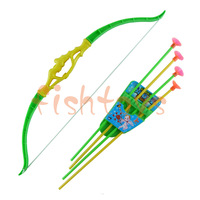 Bow and arrow set Classic toys Outdoor shooting toys Plastic toys free shipping