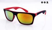 Free shipping 2014 news  brand designer party  arale retro style Fashion sunglasses men women oculos de sol