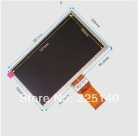 Free shipping 7 inch tablet lcd screen 50 pin 7300101466 E231732 lcd display screen 165MM*100MM