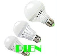 3W 5W 7W Emergency light bulb rechargeable E27 LED bombillas 2835smd battery lampara white Free shipping 5pcs