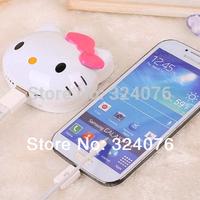 China Factory Cute Big Capacity External Battery 8000mah Hello Kitty Power Bank 8000mah