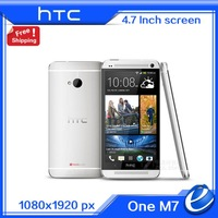 Original  HTC One M7 4G LTE european version latest Andriod 4.4.3 phone NFC Unlocked GPS WIFI 4.7'' 32GB Cell Phone Refurbished