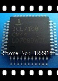 New original 10 PCS ICL7106CM44 QFP-44 ICL7106CM ICL7106 3 1/2 Digit, LCD/LED Display, A/D Converters(China (Mainland))