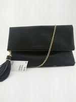Hot-selling hm h&m women's handbag all-match black day clutch chain messenger bag tassel women's handbag