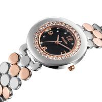 Reloj New 2014 Summer Designer Full Steel Bracelet Watches Elegant Women Dress Watches High Quality Quartz Bangle Clock WQ01