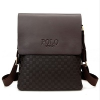 New collection 2014 fashion men bags, men casual leather messenger bag, high quality man brand business bag men's handbag
