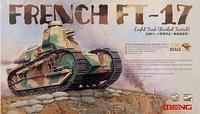 Meng Model TS-011  1/35 French FT-17 Light Tank (Riveted Turret)  plastic model kit
