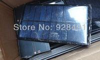 1.6W 6V Solar Panel Small Solar Cells For DIY/Experiments/School Projects Mini Solar Cells 1lot=2pcs(2pcs/lot) Free Shipping