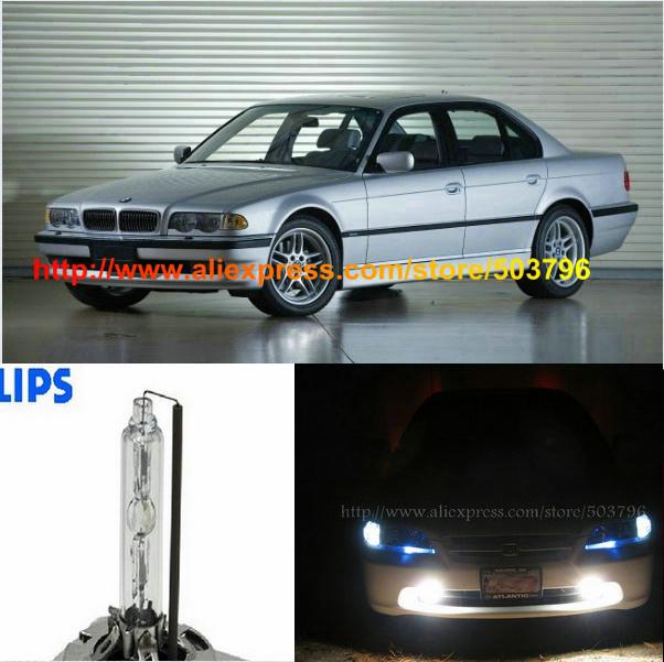 Canbus Free Shipping 2Pcs/Lot Superbright Phili 35w 12v Car HID Low Beam Headlight Bulb For Bmw E38 1994-2001 740 750(China (Mainland))