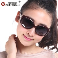 Sunglasses women's 2013 vintage gradient polarized sunglasses big box trend sunglasses elegant glasses