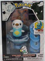 Jakks pokemon small frisbee spherule oshawott otter dolls doll